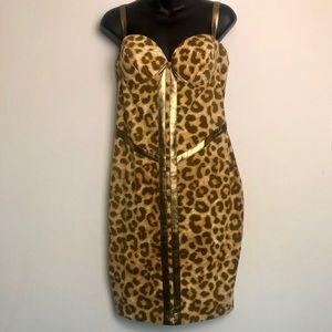 KARDASHIAN KOLLECTION Leopard Dress